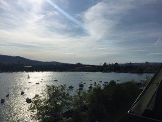 Eden au Lac Zurich -Weindegustation über den Dächern