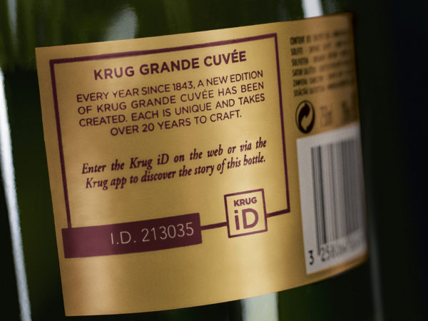 The vision of JOSEPH KRUG, Krug Grande Cuvée