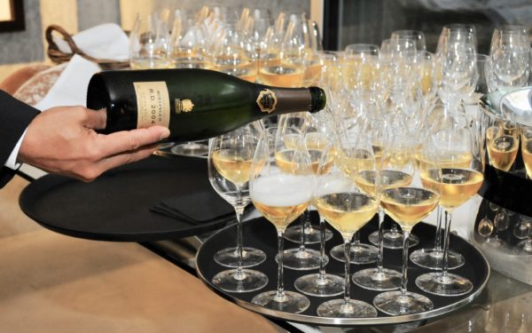 Bollinger Champagner with Katharina Haller